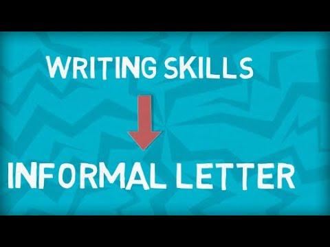 Informal Letter | How to write an Informal Letter | Format | Example