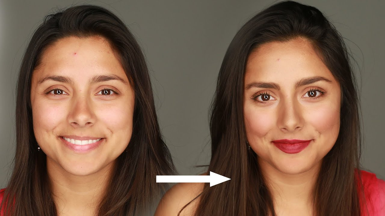 Women Learn How To Do Makeup For The First Time Youtube
