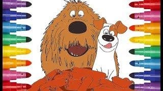 The Secret Life of Pets 2 cartoon coloring Тайная жизнь домашних животных 2 мультик раскраска