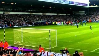 Man utd fans away at west brom 2013 atmosphere