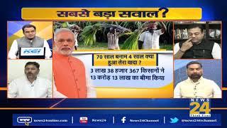 सबसे बड़ा सवाल: देश के किसानों को कबतक मिलेगा एक-दो रुपए का मुआवजा ?