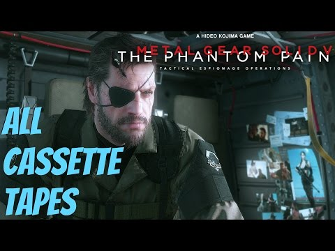 Metal Gear Solid 5 Phantom Pain - All Cassette Tapes (Story Secrets Explained)