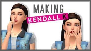 كيندال ك / فيرتز || لعبة The Sims 4 الرقص الامهات إنشاء-A-Sim