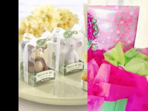 Return Gift Ideas For Baby Shower   YouTube