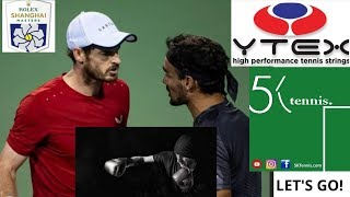 Tennis Fights, Fognini vs Murray? Rolex Shanghai Masters 2019 News. Federer in 2021?
