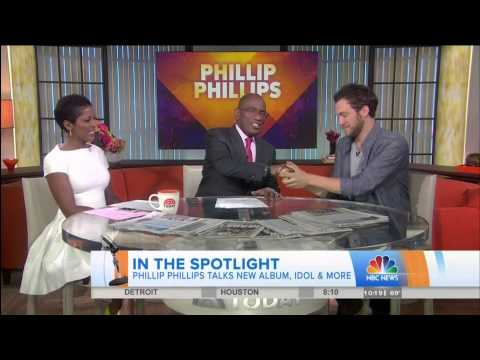 "Phillip Phillips Interview and ""Lead On"" The Today Show 6/27/2014"
