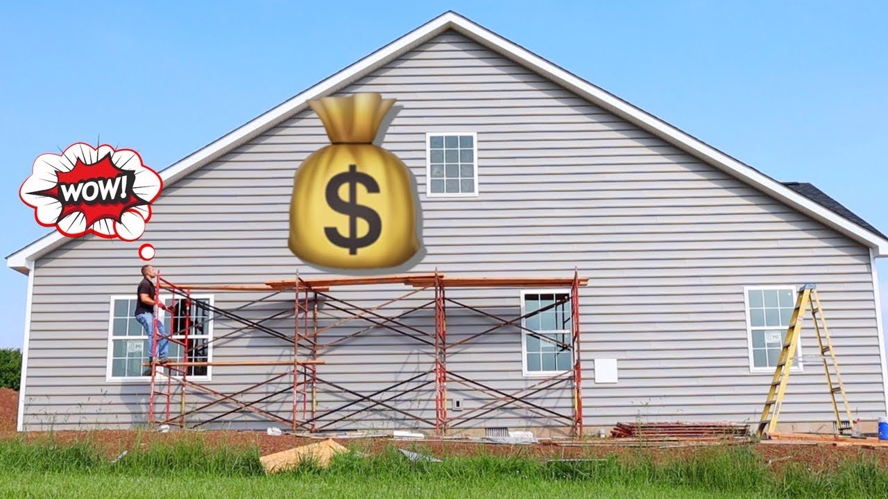 How Much MONEY I Saved Installing VINYL SIDING BY MYSELF In 2021!