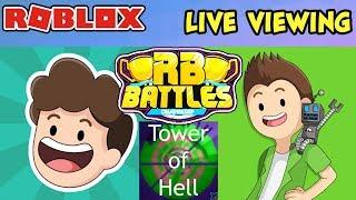 🔴 RB Battles Event Live Viewing 🔴 - DENIS Vs. SUB - React, Discuss & VOTE | 1 MILLION ROBUX PRIZE