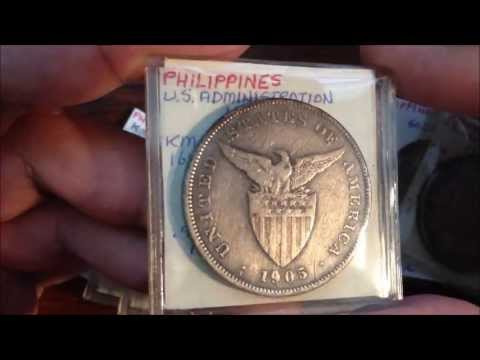 Silver New Buys - Numismatic Coin: USA Silver coins for Philippine colony and commonwealth