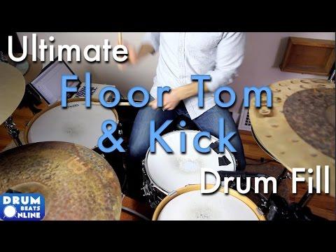 Ultimate Floor Tom & Kick Drum Fill - Drum Lesson | Drum Beats Online