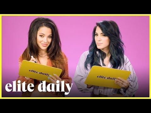 How Well Do YouTuber Twins Niki & Gabi Know Each Other?! | Elite Daily