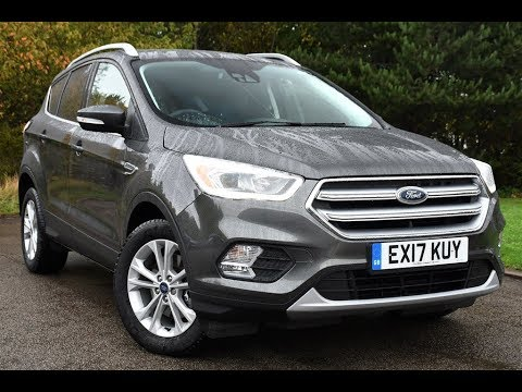 used ford kuga 2 0 tdci titanium 5dr 2wd magnetic grey. Black Bedroom Furniture Sets. Home Design Ideas