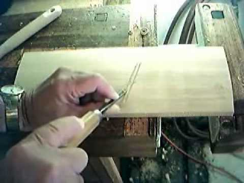 Woodcarving Basics, using Traditional Chisels