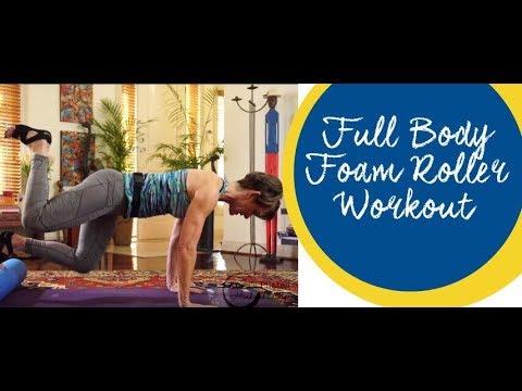 Ange's Pilates Full Body Foam Roller Workout