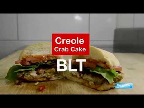 Creole Crab Cake BLT Sandwich Recipe