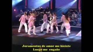 BANDA CALYPSO - TEMPORAL -sub español - karaoke
