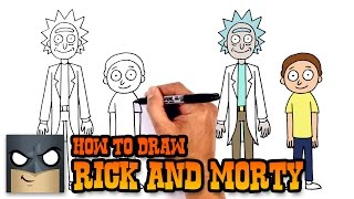 How to Draw Rick and Morty | Drawing Lesson