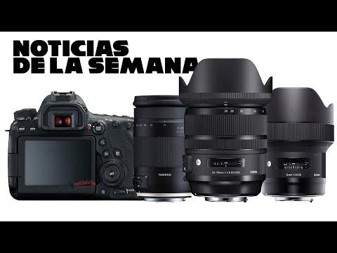 Noticias de la semana 6D Mark II, Sigma Art 24-70 y Tamron 18-400mm + ¡¡ANUNCIO!! | David López
