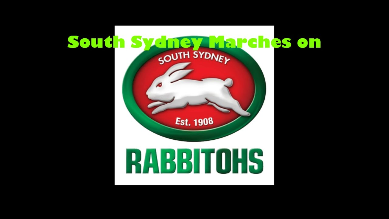 South Sydney Rabbitohs Theme Song Lyrics Nrl Sing A Long Youtube