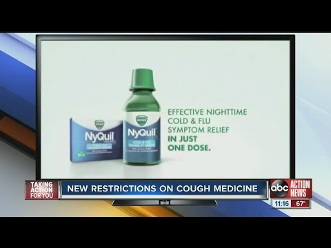 New restrictions on cough medicine in Florida