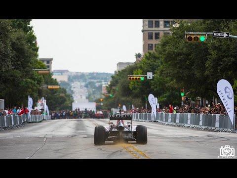 Red Bull F1 car downtown Austin Texas HD