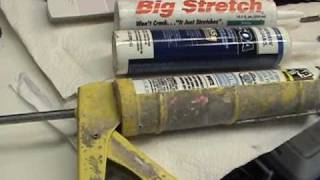HOW TO PROFESSIONALLY CAULK anything.