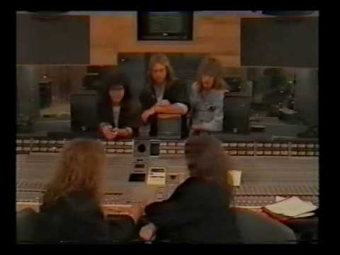 EUROPE at Olympic Studios in 1988 - Carrie acapella
