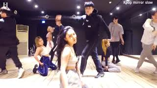 (mirrored & 50% slowed) TWIT 'HWASA' Dance Practice Choreography Video