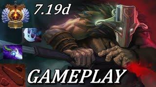 WELCOME TO EU DOTA! Juggernaut Ranked Gameplay Commentary [IMMORTAL] Dota 2