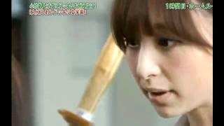 AKB篠田麻里子(25歳)が後輩のドッキリに瞳孔開いてマジギレ!