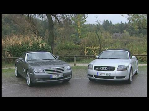 Chrysler Crossfire Roadster vs. Audi TT Roadster 1.8T: Der Roadster-Vergleich