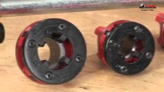 видео Как нарезать резьбу на трубе - резьбонарезателем или вручную? » Аква-Ремонт