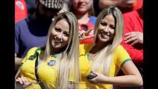 2014 Brazil VB szurkolói (We are one)