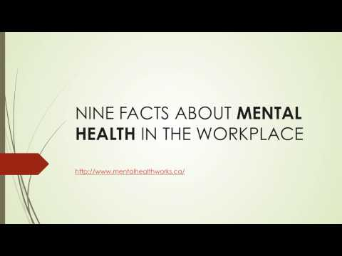 Nine Facts About Mental Health In the Workplace