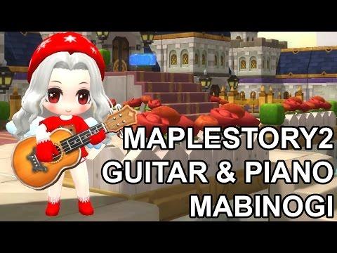 MapleStory2 Online Piano and Guitar Mabinogi Music