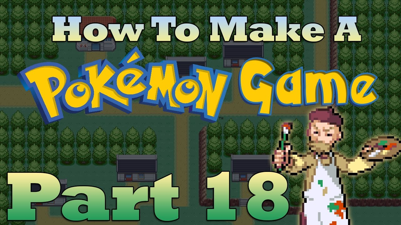 How To Make a Pokemon Game in RPG Maker - Part 18: Tilesets