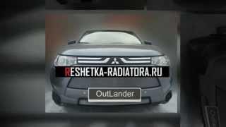 видео Обвес и защита бамперов Mitsubishi Outlander 3 2012-2014