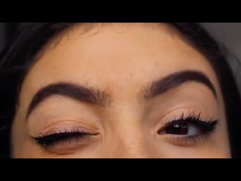 how to do winged eyeliner (EASY)