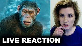War for the planet of the apes final trailer reaction