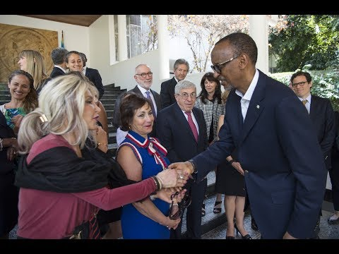 KAGAME MEETS AMERICAN JEWISH COMMITTEE