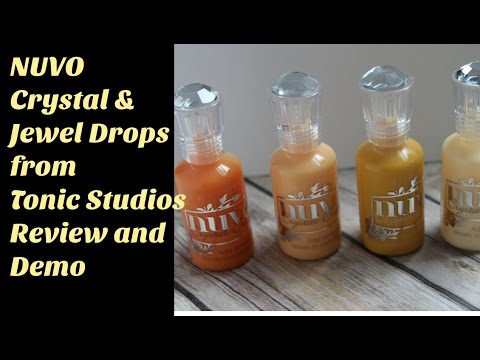 Nuvo Crystal and Jewel Drops
