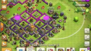 I'm going to battle people in clash of clans