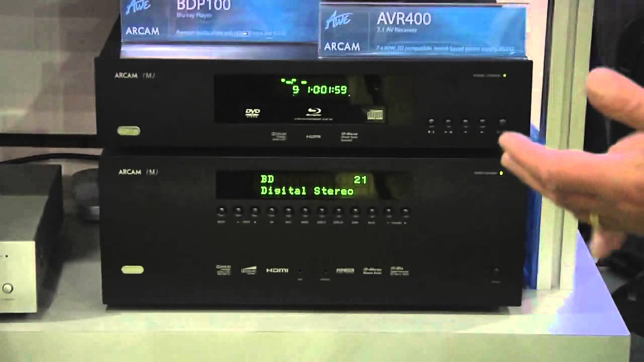 Arcam New AVR-400 FMJ Precise Playback Whatever The Sourc