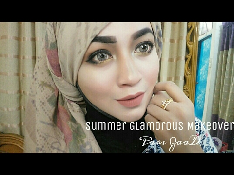 Summer Glam Makeover Smoky Eye for Beginner | Pari ZaaD ❤