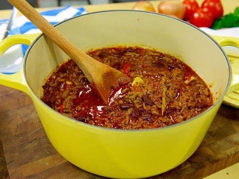 Mitt kök: Tommy Myllymäki lagar Chili con carne - TV4