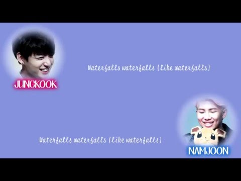 BTS Jungkook x Rap Monster - Waterfalls [Lyrics Han|Rom|Eng] 정국 x 랩몬스터