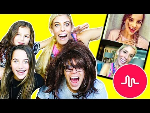 RECREATING CRINGY MUSICAL.LYS WITH ANNIE AND HAYLEY LEBLANC!