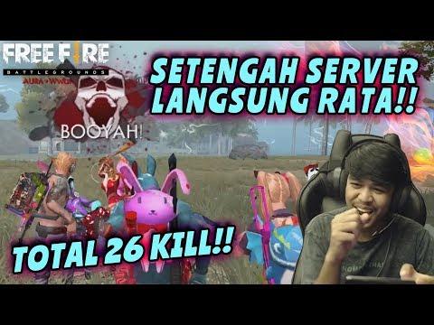 GAMEPLAY ANTI NGENDOG CLUB BAR BAR SAMPAI BOOYAH!! - FREE FIRE BATTLEGROUND