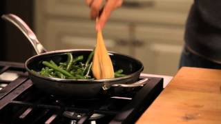 Easy Green Beans With Crushed Toasted Almonds