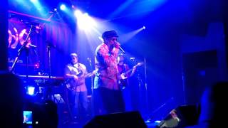 "10/09/2015 Johnny Osbourne ""Little Sound Boy"" at Double Door in Chicago"